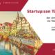 Flyer der ersten Startup:con der Universität Tübingen