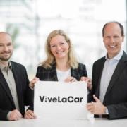 Die drei Gründer:innen von ViveLaCar